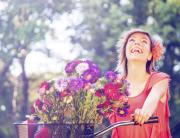 happy woman copy